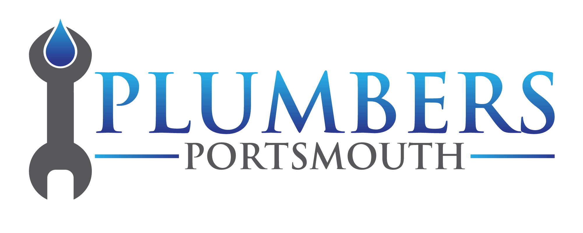 A picture of a plumbing company logo